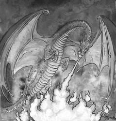 Dragon Burn by comixjammer