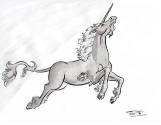 Unicorn by comixjammer
