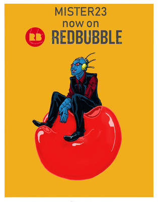 Red Bubble Ad by Mister-23