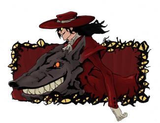 Hellsing- Alucard Crop by Mister-23
