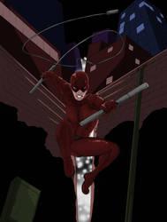 Daredevil- His Sneer by Mister-23