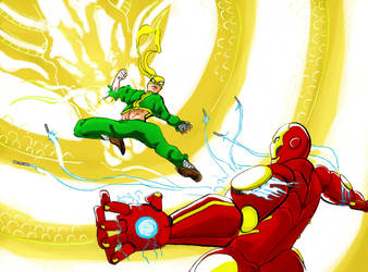 Ironman V Iron First by Mister-23