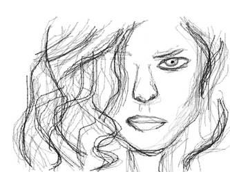 Female Sketch by ItaliaTwentyFour