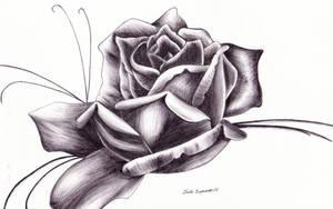 Darkened Rose by thejade