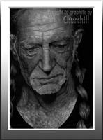 Willie Nelson by EuchridEucrow