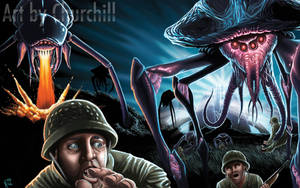 Alien Invasion by EuchridEucrow