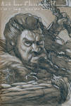 Thorin Oakenshield Value Drawing by EuchridEucrow