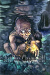 Gollum and the Precious by EuchridEucrow