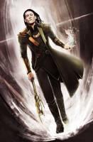 Loki by Corvidajor