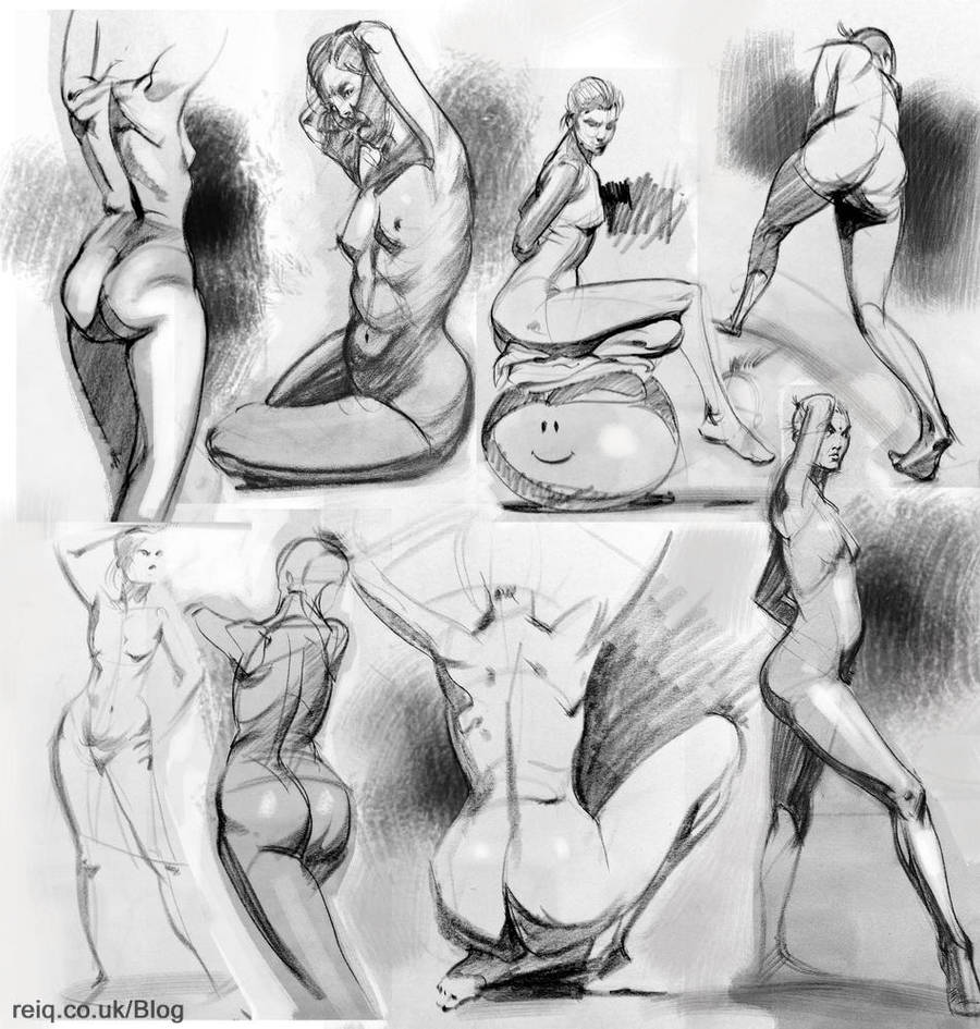 Life Drawing at CAD 2 by reiq