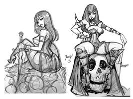 Slayers Sketch by reiq