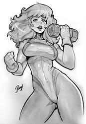 She-Hulk by reiq
