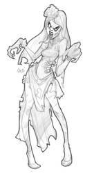 Corpse Bride Sketch! by reiq
