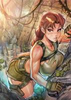 Lara Croft Tomb Raider by reiq