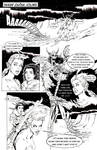 PAGE ONE Inked and lettered by TMCCOMIC