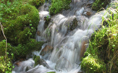 Waterfall in Creek 2 by SendDerek