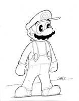 Super Mario by DrFurball