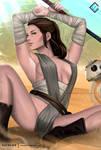Rey - optional NSFW on Patreon by evandromenezes