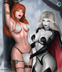 Lady Death x Red Sonja - NSFW on Patreon by evandromenezes