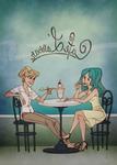 cafe l'amour by taffygiraffe