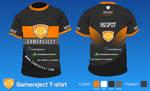 Gamersject T-shirt by snowy1337