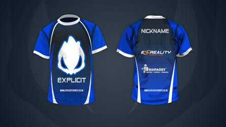 Explicit Esports Shirt by snowy1337