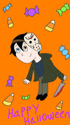 Happy Halloween From Jason! by Calico-Productions