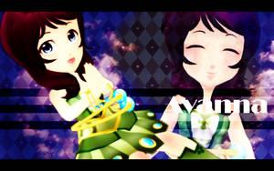 MMD Chibi Avanna DL by Kanahiko-chan