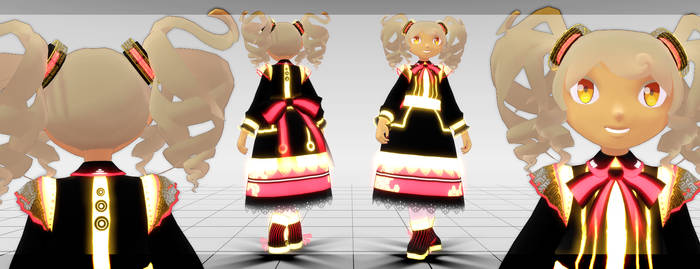 [MMD] Cyber Lolita [AN003 contest entry] by Kanahiko-chan