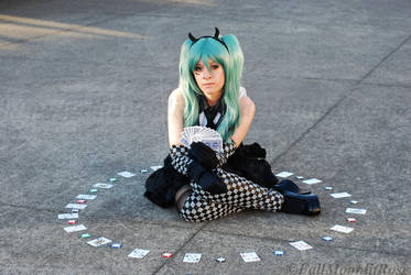 Hatsune Miku- Poker Face. by FallMoonlitRose