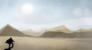 Desert Exploration by SereneBlackout