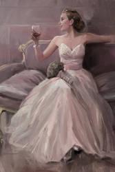 Boldini style portrait (commission) by whiskypaint