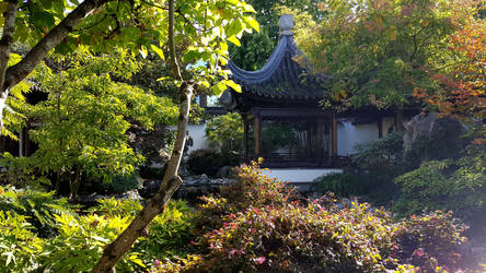 Lan Su Chinese Garden 4 by theApocrypha