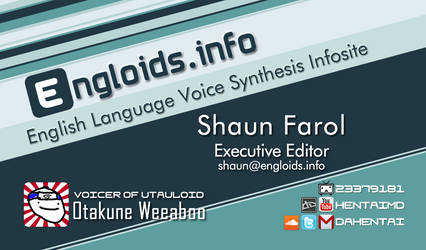 Engloids.Info 'Business Card' Concept by HentaiMD