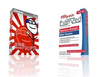 Otakune Weeaboo 3D Boxart Comparison by HentaiMD