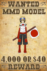 MMD Wanted: Otakune Weeaboo (Human Fanart) by HentaiMD