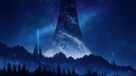 Halo Infinite - Into The Night by TheAdamTaylor