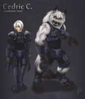 OC Cedric Ceberus. by LycanthropeHeart