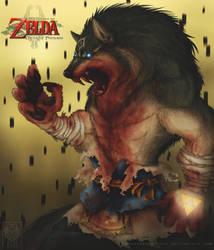 DFA's-TLoZ- Blue-eyed Beast by LycanthropeHeart