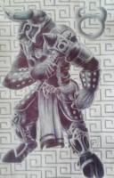 General Black Hammer Thunderton by LycanthropeHeart