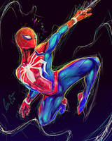 Spider-man Ps4 by CurzBlayz
