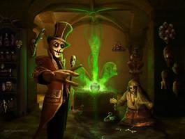 The voodoo shop by MadameThenadier