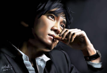 Song Seung-heon by buriedflowers