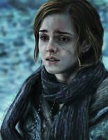 Emma Watson (Hermione) by buriedflowers