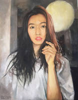 Gao Guanjun oil portrait by buriedflowers
