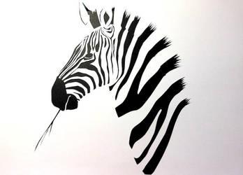 Zebra by arcanefeline