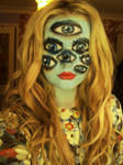 Tim Burton: The Girl With Many Eyes by Nomii