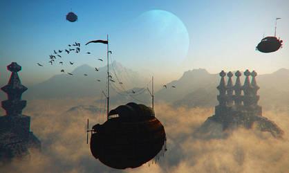 Cloud Ferries by FeysalAnthonyNair