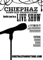 Chiephaz Live Show Flyer Proof by Havanachan