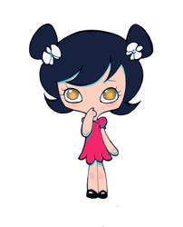 Sad Little Girl by Havanachan